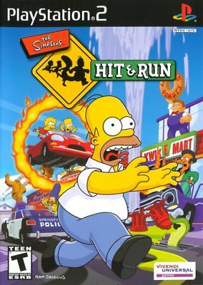 The Simpsons: Hit & and Run - Sony PlayStation 2 PS2 Game