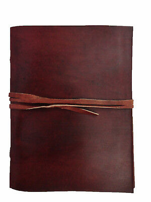 Vintage Leather Diary Journal Blank Notebook Travel Bound Sketchbook Writing