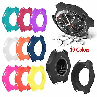 Shockproof Silicone Protector Case Cover for Samsung Galaxy Gear S3 Classic #BU