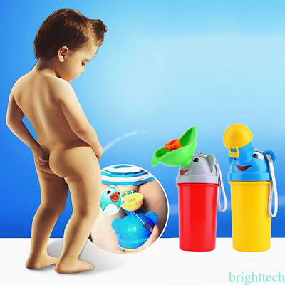 Toddlers Baby Potty Training Urinal Pee Pot Toilet Portable Car Travel Seat