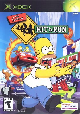 The Simpsons: Hit & and Run - Microsoft Xbox Game