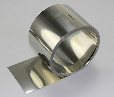 Select Thickness 0.05 - 1.0mm 304 Stainless Steel Fine Plate Sheet Foil 10 15mm