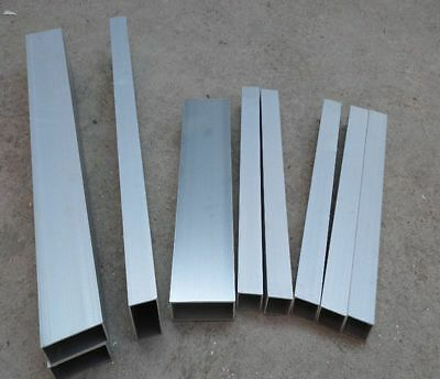 Thickness 6mm 10mm 6061 Aluminum Square Rod L:100-600mm-Select DORL/_A
