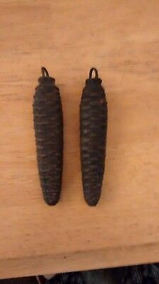 Two Cuckoo clock Weights ,(30 hour) Parts Only Or Repairs