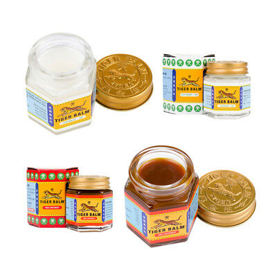 10g 19g 30g TIGER BALM White Red Muscle Ointment Massage Rub Pain Relief
