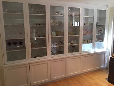 Aus Made Morisset Wall Unit Display Unit Bookcase Bulk Head Shaker Doors