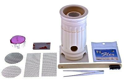 Beginners PMC Flex Ceramic Kiln Kit Silver Clay Set for Making Charms