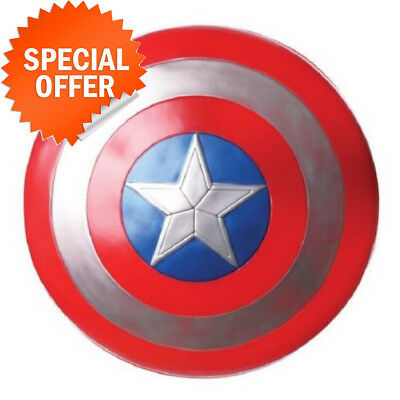 The Avengers Captain 30CM Captain America Assemble Shield Cosplay Toy Red