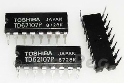 TD62107P 4.75V~17V 750mA 4CH HIGH-CURRENT DARILGTON SINK TOSHIBA DIP-16 1pcs New
