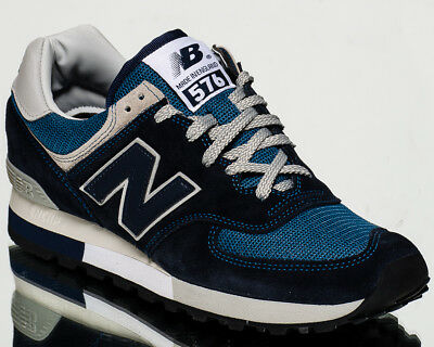 check out 13840 b90c0 NEW BALANCE 576 Made In England men lifestyle sneakers NEW navy grey  OM576-OGN
