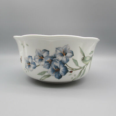 Lenox China BUTTERFLY MEADOW BLUE Large Bowl