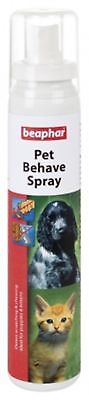 Beaphar Pet Behave Spray 125Ml Anti Scratch & Anti Chew Dog/Cat Training Spray