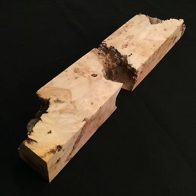 WOOD Blank, BIG Maple Burl, Knife Making, Handle Knife, Wood, DIY Knife.