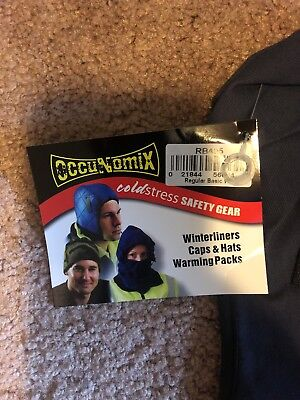 Hard Hat Liner Occunomix Coldstress Safety Gear Flame Retardant New
