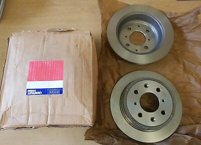 Rover Group 400 1.4i 16V 414 Si 102bhp Front Brake Pads Discs 262mm Vented