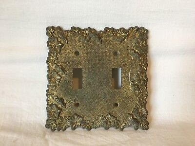 Vintage Ornate Floral Metal Light Switch Plate Cover (LR 2874) Edmar