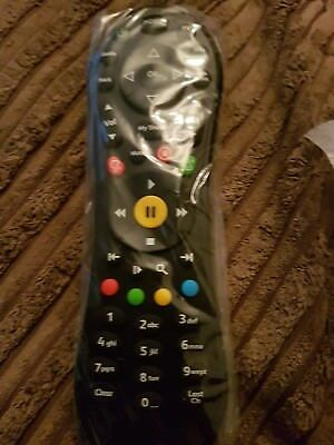 100% Brand New Genuine TiVo Virgin Media V6 Remote Control Free 2x AA Batteries