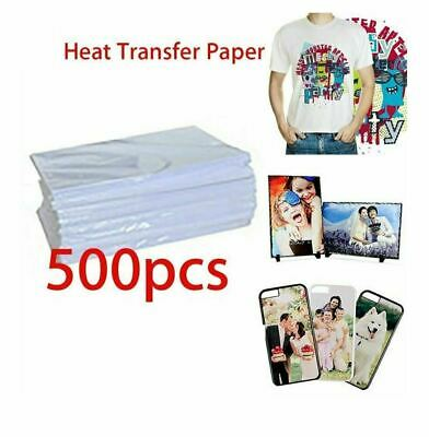 "Sublimation Paper good for all materials - 100 Sheets (8.5"" × 11"")"