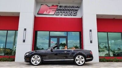 2013 Bentley Continental GT  2013 CONTINENTAL GTC W12 CONVERTIBLE - MULLINER PKG - AMAZING