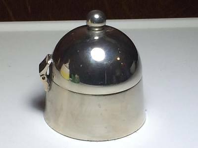 Antique Silver plate ring box