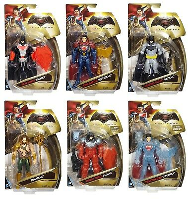 Dc Comics Mattel Batman Vs Superman Action Figures Dawn Of Justice Super Heroes