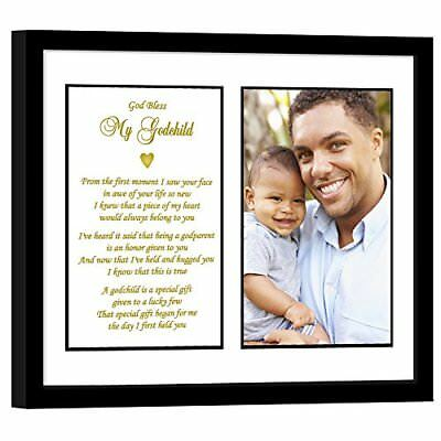 Godchild Gift from Godfather for Baptism or Birthday Add Photo Baby Picture