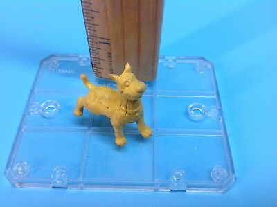 Scooby Doo Pencil Topper - 1970's Old vintage mini figure eraser yellow