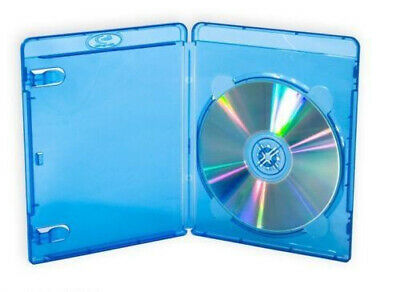 Blu Ray Cover Case 12mm 14mm SINGLE DOUBLE BluRay BDR Disc -