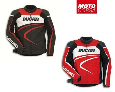 Ducati Sport C2 Perforated Leather Jacket By Dainese sizes 48 Euro