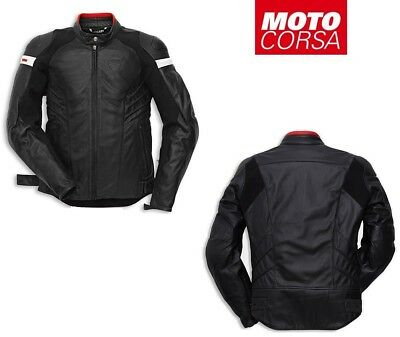 Ducati Dark Armour ( Armor ) Perforated Jacket by Dainese sz 54 and 56 Euro