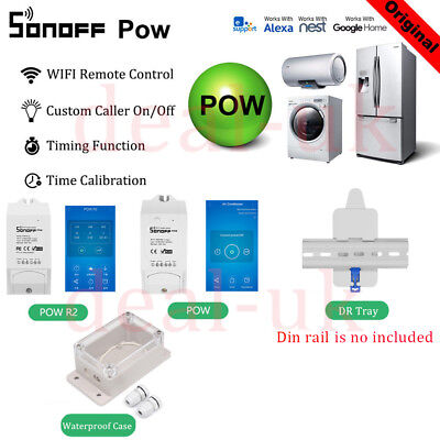 Sonoff Pow R2 DIY Home Wireless Smart Power Consumption Measureme / DR Tray dk1