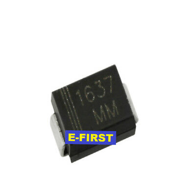 SMD 5V unidirectional TVS Transient diode SMBJ5.0A DO-214AA P6KE5.0A
