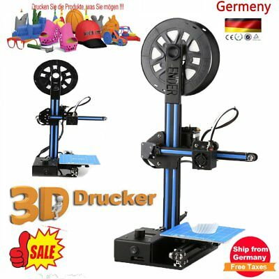 Ender-2 3D Printer High Precision 1.75mm/0.4mm Nozzle 150*150*200mm Printing SA