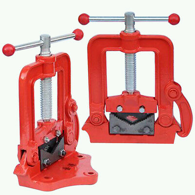 "2"" Bench Pipe Vice Quick Release Jaw Clamp Plumber Equipment Workshop Vise Tools"