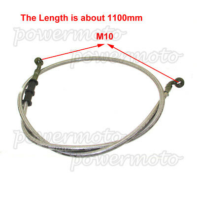 1.1m Front Hydraulic Brake line Hose Fits Chinese 50cc-190cc Dirt Pit Bike Motor