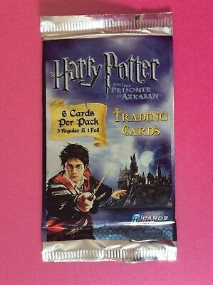 Harry Potter and the Prisoner of Azkaban Trading Cards - MULTIPLE SEALED PACKS