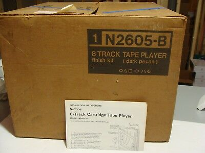 RARE NUTONE N2605-B 8 Track Player VINTAGE - NEW in BOX !!!