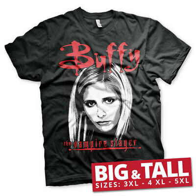 Officially Licensed Buffy The Vampire Slayer 3XL, 4XL, 5XL Men's T-Shirt