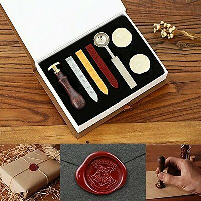Personalized Harry Potter Hogwarts School Badge Seal Stamp W/wax Set Collection