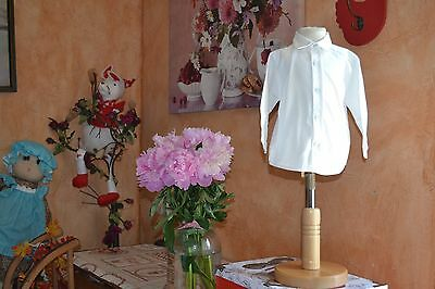 chemise tartine et chocolat 12 mois manches longues initiales brodees