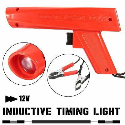 Motorcycle Automotive Engine Ignition Timing Light Xenon Lamp Strobe Tester Gun