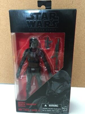 """Star Wars the Black Series  Imperial Death Trooper 6"""" Action Figure New"""