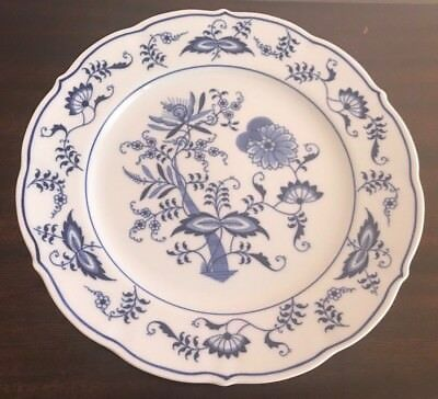 Blue Danube Dinner Plate 10 Inches Blue & White Onion Pattern China New