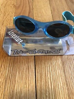 Baby Banz Adventure Infant Sunglasses 0-2 Years Blue 100% UV Protection NEW