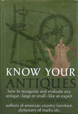Know Your Antiques By Ralph & Terry Kovel  (1980 Hardcover)