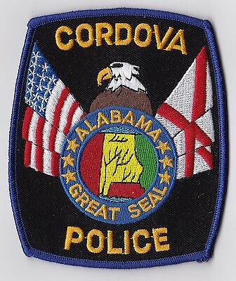 Cordova Police Patch Alabama AL NEW !!!