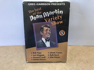 The Best Of The Dean Martin Variety Show Greg Garrison DVD Movies 2003 Comedy