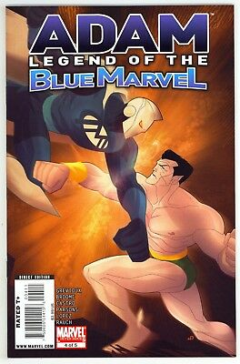 Adam: Legend of the Blue Marvel (2008) #3 NM- Scarce Issue