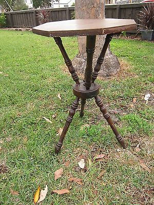 Unique Antique Vintage Occasional Gypsy Table.