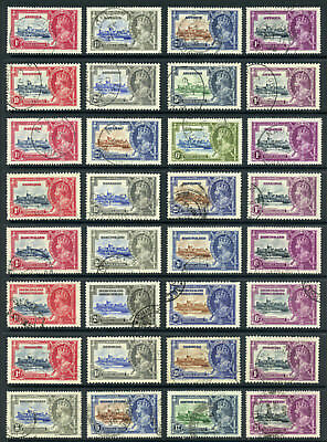 British Commonwealth 1935 Silver Jubilee Omnibus issue, complete used set $1993